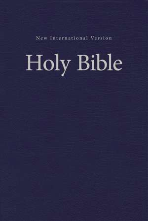 NIV, Value Pew and Worship Bible, Hardcover, Blue de Zondervan