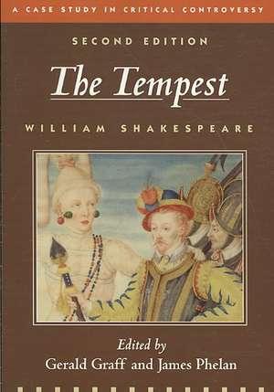 The Tempest:  A Case Study in Critical Controversy de William Shakespeare