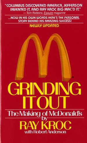 Grinding It Out de Ray Kroc