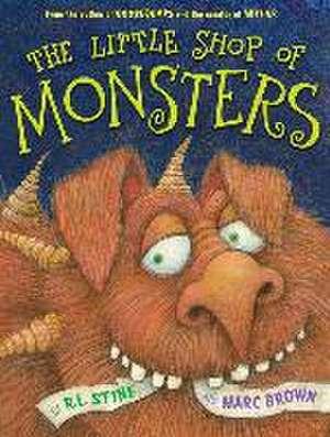 The Little Shop of Monsters de Marc Brown