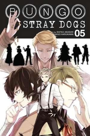 Bungo Stray Dogs, Vol. 5 de Kafka Asagiri