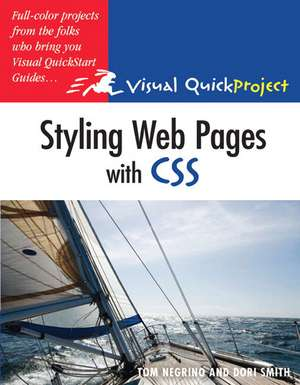Styling Web Pages with CSS de Tom Negrino