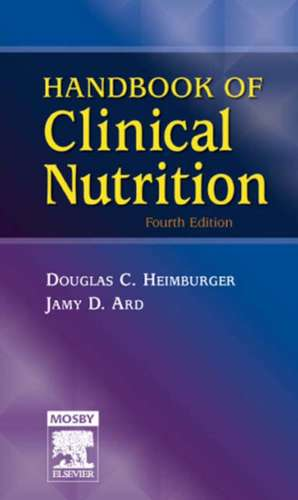 Handbook of Clinical Nutrition