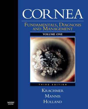 Cornea: 2-Volume Set with DVD (Expert Consult: Online and Print) de Jay H. Krachmer