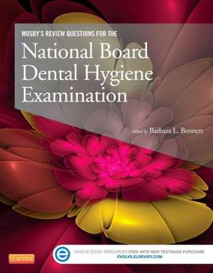 Mosby's Review Questions for the National Board Dental Hygiene Examination de Mosby