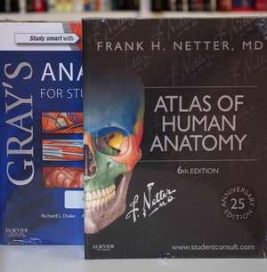 Netter Atlas of Human Anatomy and Gray's Anatomy for Students Package