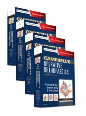 Campbell's Operative Orthopaedics, 4-Volume Set: Campbell Ortopedie de Frederick M Azar
