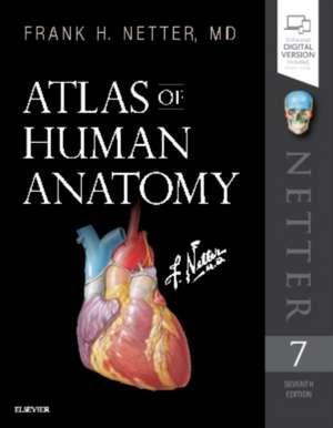 Netter. Atlas de anatomie. Netter's Atlas of Human Anatomy de Frank H. Netter