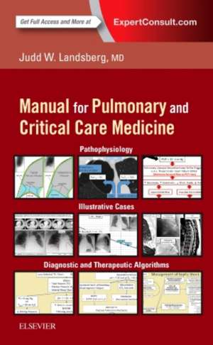 Clinical Practice Manual for Pulmonary and Critical Care Medicine imagine
