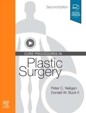 Core Procedures in Plastic Surgery de Peter C. Neligan