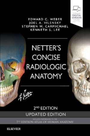 Netter's Concise Radiologic Anatomy Updated Edition de Edward C. Weber