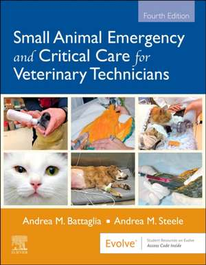 Small Animal Emergency and Critical Care for Veterinary Technicians imagine