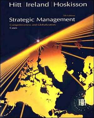 Strategic Management Cases de Michael A. Hitt