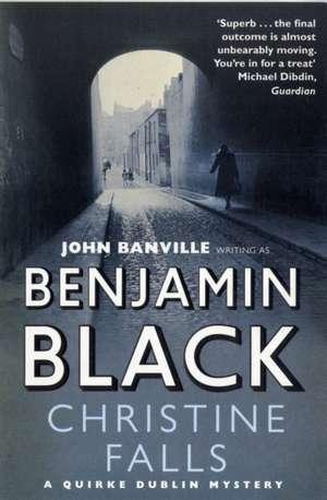 Christine Falls de Benjamin Black