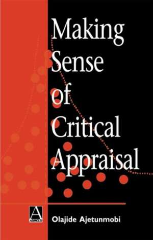 Making Sense of Critical Appraisal imagine