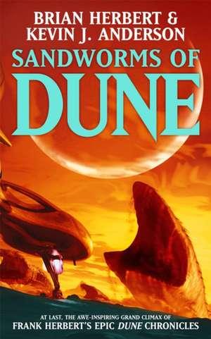 Sandworms of Dune de Kevin J. Anderson