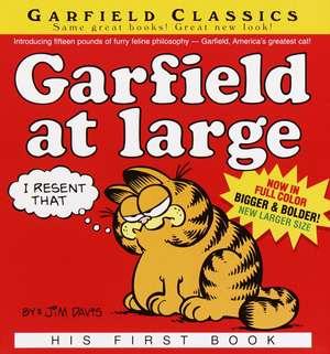 Garfield at Large:  His 1st Book de Jim Davis