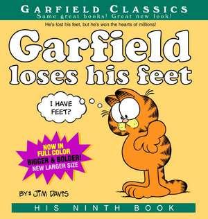 Garfield Loses His Feet:  His 9th Book de Jim Davis