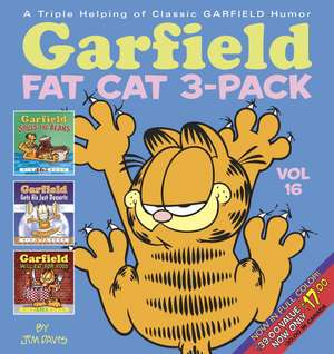 Garfield Fat Cat 3-Pack #16:  The Jon Arbuckle Chronicles de Jim Davis