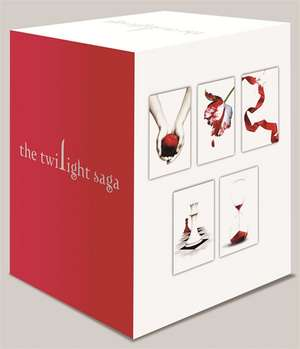 Twilight Saga 5 Book Set (White Cover)