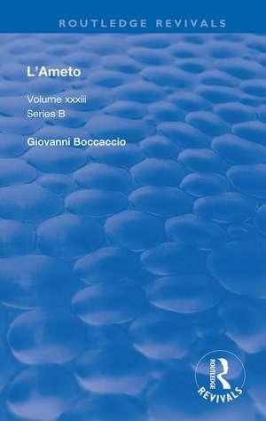 L'Ameto de Giovanni Boccaccio