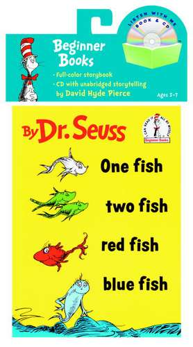 One Fish, Two Fish, Red Fish, Blue Fish Book & CD de  Dr. Seuss