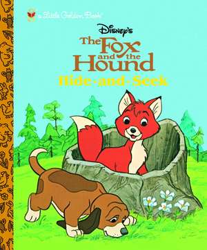 The Fox and the Hound:  Hide and Seek de Golden Books