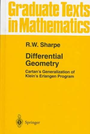 Differential Geometry: Cartan's Generalization of Klein's Erlangen Program de R.W. Sharpe