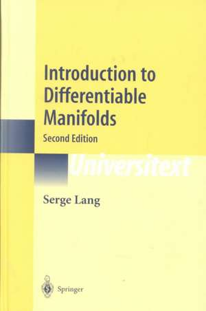 Introduction to Differentiable Manifolds de Serge Lang