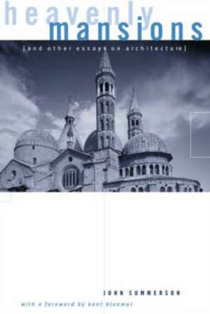 Heavenly Mansions (Reissue) de John Summerson
