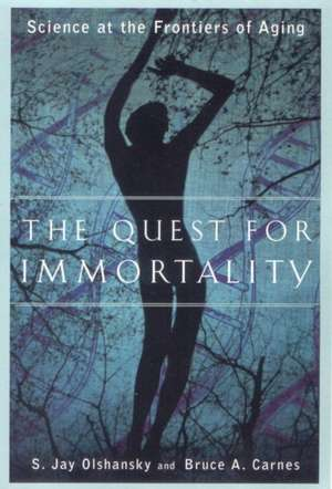 The Quest for Immortality – Science at the Frontiers of Aging