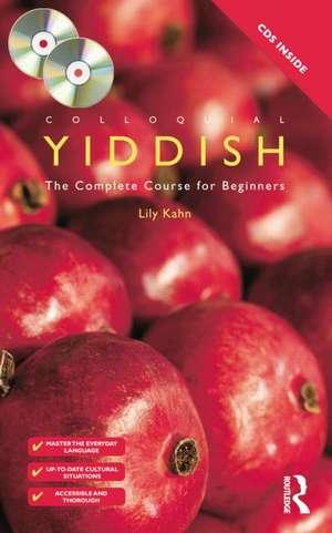 Kahn, L: Colloquial Yiddish
