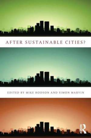 After Sustainable Cities? imagine