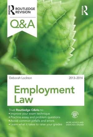 Q&A Employment Law 2013-2014