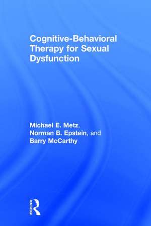 Cognitive-Behavioral Therapy for Sexual Dysfunction