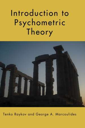 Introduction to Psychometric Theory imagine