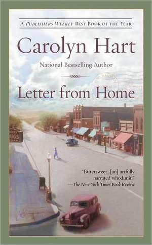 Letter from Home de Carolyn Hart