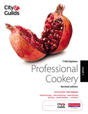 City & Guilds 7100 Diploma in Professional Cookery Level 1 Candidate Handbook, Revised Edition
