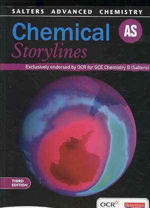 Salters Advanced Chemistry: Chemical Storylines As