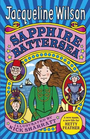 Sapphire Battersea de Jacqueline Wilson