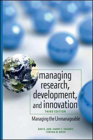 Managing Research, Development, and Innovation