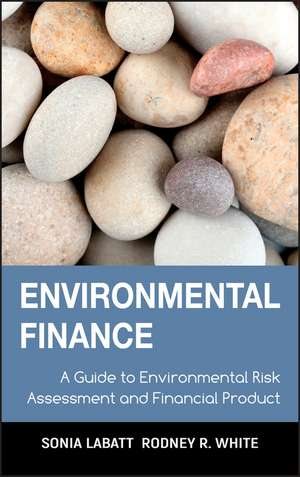 Environmental Finance: A Guide to Environmental Risk Assessment and Financial Products de Sonia Labatt