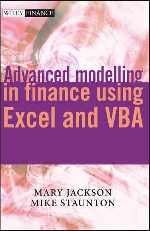 Advanced Modelling in Finance Using Excel and VBA imagine