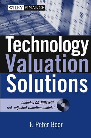 Technology Valuation Solutions de F. Peter Boer