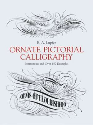 Ornate Pictorial Calligraphy imagine