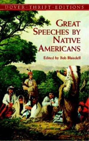 Great Speeches by Native Americans de Dover Thrift Editions