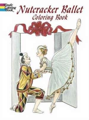 Nutcracker Ballet Coloring Book de Brenda Sneathen Mattox