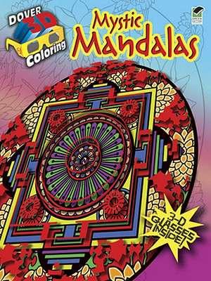 Mystic Mandalas [With 3-D Glasses]