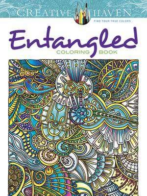 Creative Haven Entangled Coloring Book de Angela Porter