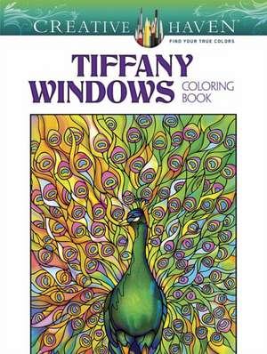 Creative Haven Magnificent Tiffany Windows Coloring Book de Tiffany, Louis Comfort
